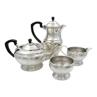 Mappin & Webb Silver-Plate Coffee & Tea Service - Set of 4 For Sale