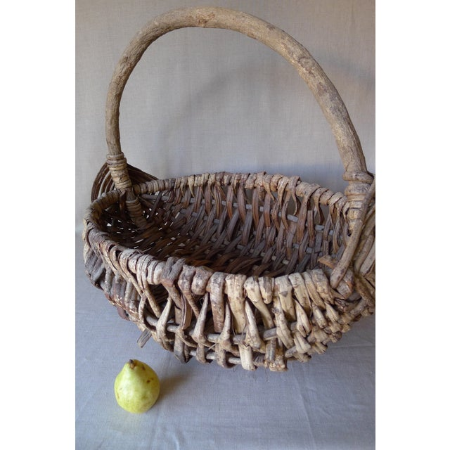 Large Appalachian Handwoven Basket - Image 3 of 7