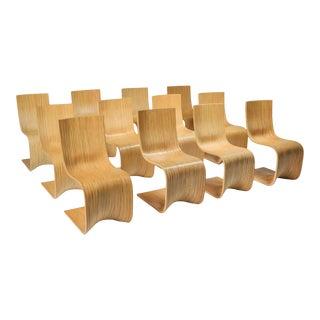 Alejandro Estrada Bamboo Dining Chairs for Piegatto - 2006 For Sale