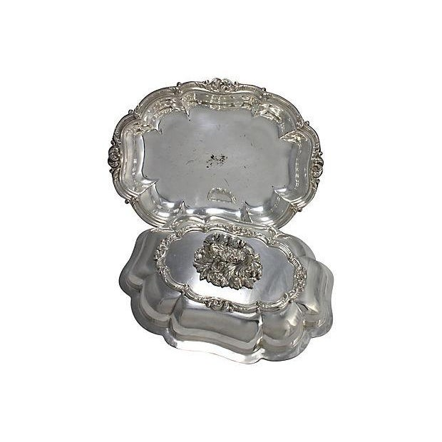 Viners English Silver-Plate Serving Dish - Image 2 of 5