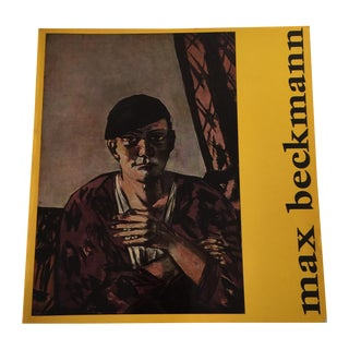 Peter Selz MoMA 1964 'Max Beckmann' Book For Sale