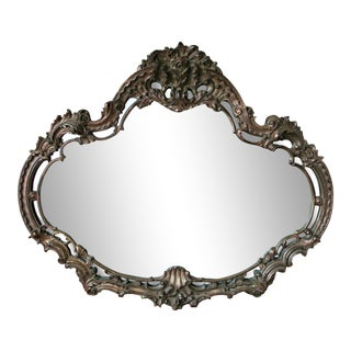 Mid-Century Turner Rococo Wall Mirror For Sale