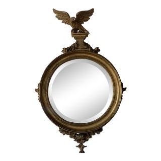 Regency English Bullseye Mirror For Sale