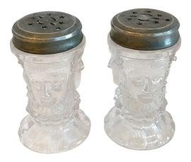 Image of Folk Art Salt and Pepper Shakers