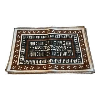 Vintage Tribal Pattern Linen Placemats - Set of 6 For Sale