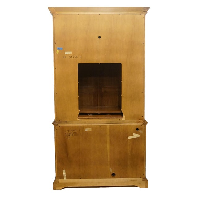 Heritage Avallon Collection Country French Media Armoire For Sale - Image 10 of 13