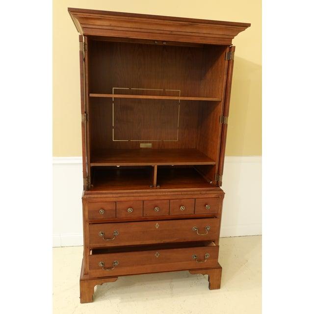 Lane Williamsburg Cherry Bedroom Armoire Cabinet For Sale In Philadelphia - Image 6 of 12