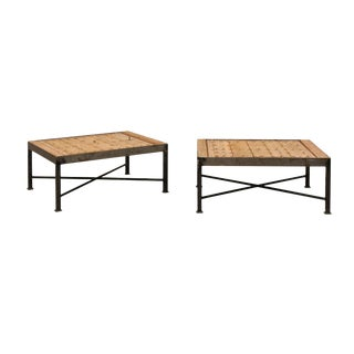 18th Century Spanish Coffee Tables - a Pair For Sale