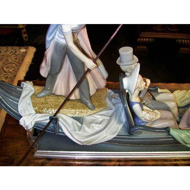 Lladro in the Gondola Signed by Catala and Ruiz For Sale - Image 9 of 10