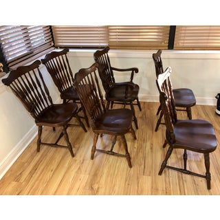 1920s Sprague and Carlson Inc. Windsor Dining Chairs-Set of 6 Preview