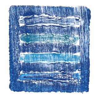 """Water & Sky 2"" Original Artwork by Len Klikunas For Sale"