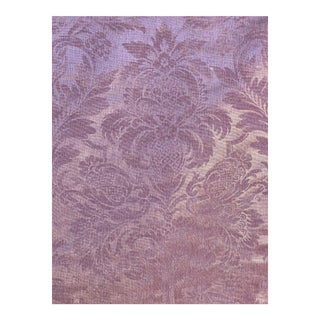 """Manufacture Royale Bonvallet """"Beaufort"""" Embossed Fabric - 6 Yards For Sale"""