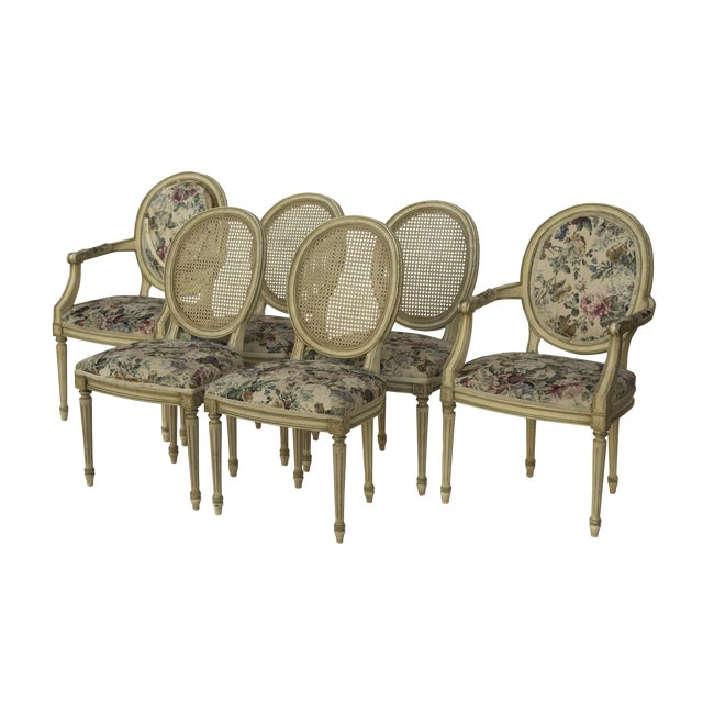 Kindel Louis XVI Style Dining Chairs- Set of 6 - Image 1 of 10