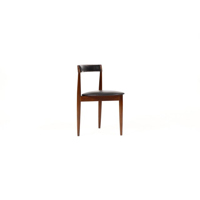 1960s Hans Olsen for Frem Rojle Danish Modern / Mid Century African Teak Dining Chairs - Set of 4 For Sale - Image 5 of 11