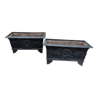 Cast Iron Planters For Sale
