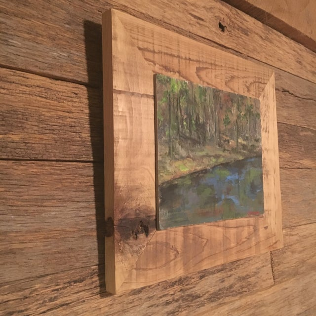 Impressionist Upstate NY Landscape Painting For Sale - Image 3 of 8