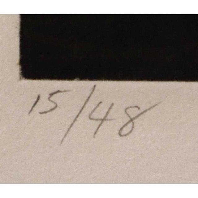 """1990s Susan Rothenberg, """"Mezzofist #2"""" Mezzotint Print For Sale - Image 4 of 13"""