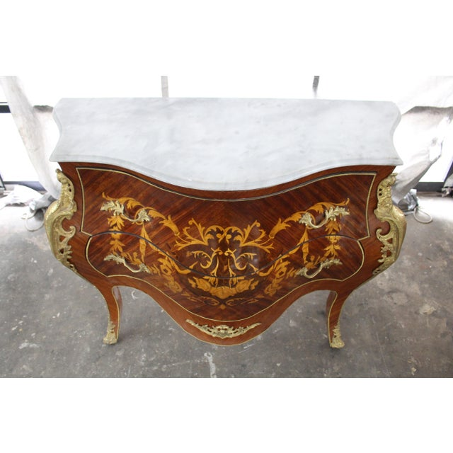 Mid 19th Century Antique French Bombay Commode For Sale - Image 4 of 13