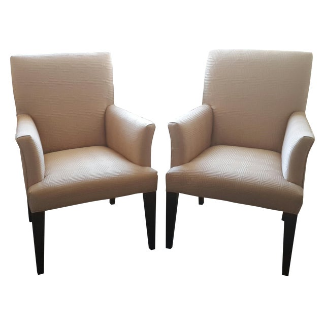 Mitchell Gold + Bob Williams Anthony Chairs - Pair For Sale