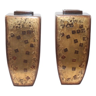 Contemporary Style Vases - a Pair For Sale