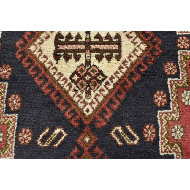 Red Persian Afshar Runner - 3'5'' X 9'3'' For Sale - Image 8 of 13