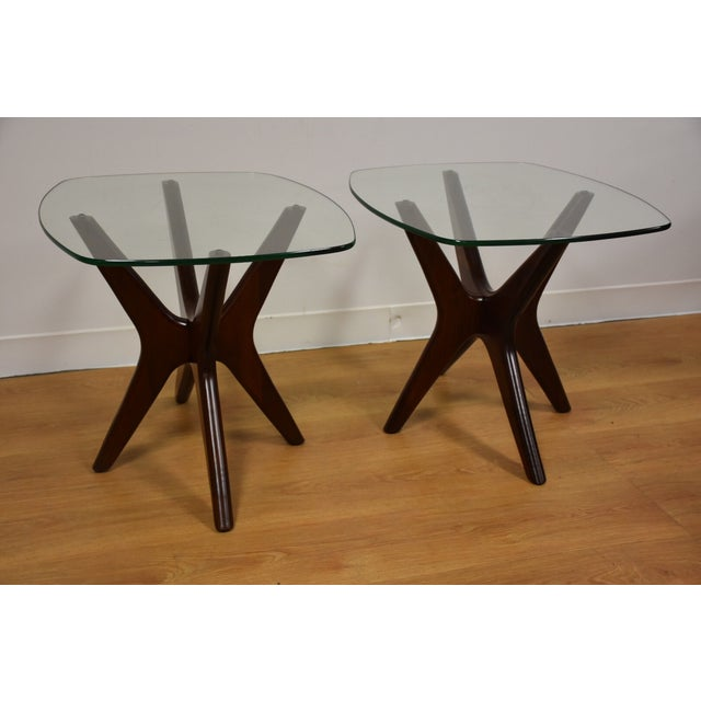 Adrian Pearsall Jacks End Tables - A Pair - Image 2 of 9