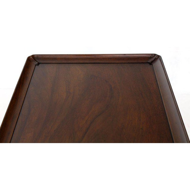 1970s Queen Anne Kittinger Cw-8 Mahogany Tea Table For Sale - Image 12 of 13