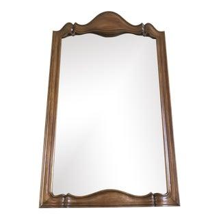 Large Mid Century Walnut Mirror by John Widdicomb For Sale
