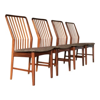 Danish Modern Svend Aage Madsen Teak Dining Charis - Set of 4