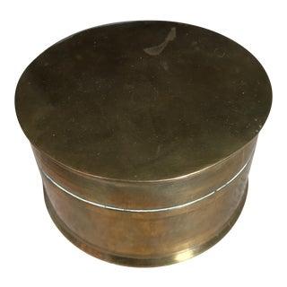 Cute Solid Brass Trinket Box