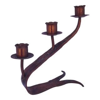 Erhard Glander Copper Candleholder