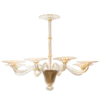 Customizable Murano Glass Chandelier For Sale