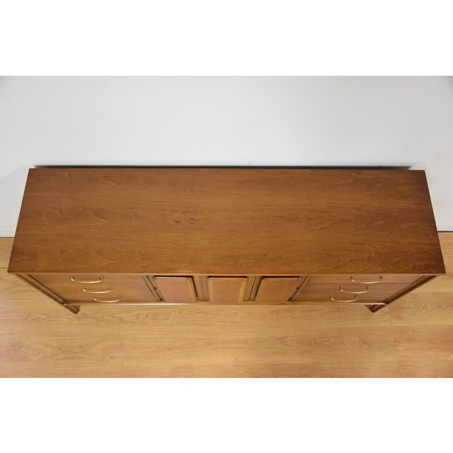 Mid-Century Walnut Credenza by Broyhill Forward - Image 8 of 11