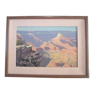 """Grand Canyon"" Oil Painting by M. L. Coleman For Sale"