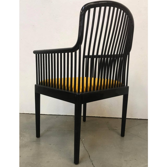 """1970s Set of 14 Yellow Davis Allen """"Andover"""" Chairs for Stendig For Sale - Image 5 of 9"""