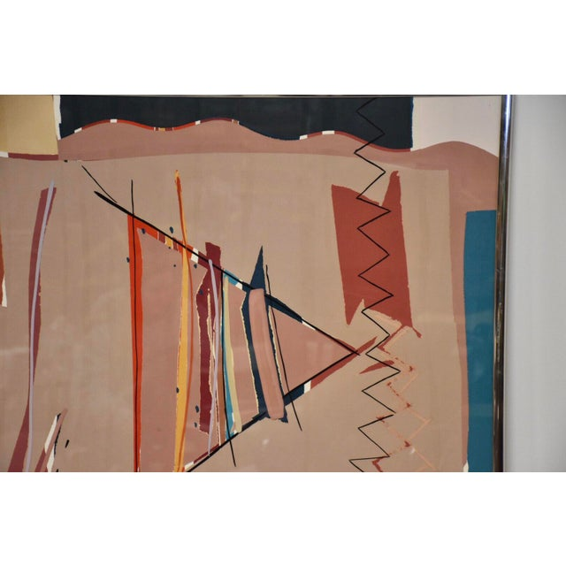 Abstract Sally Anderson Large Abstract Painting For Sale - Image 3 of 10