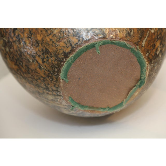 Large Art Pottery Vase by Hiroshi Nakayama & Judy Glasser For Sale - Image 9 of 10
