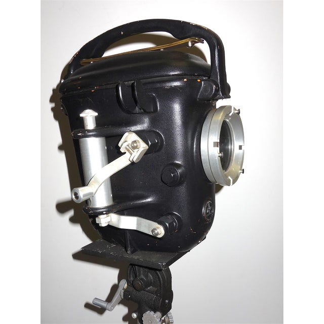 Bolex Underwater Cinema Camera Housing With Tripod, Vintage, Classic, Sculpture For Sale - Image 9 of 13