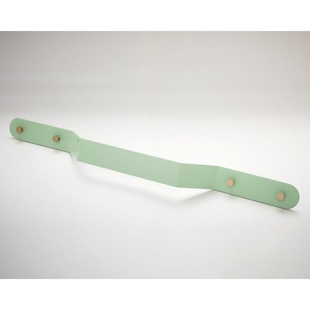 Contemporary Nest Studio Collection Geo-C-20 Mint Handle For Sale - Image 3 of 3