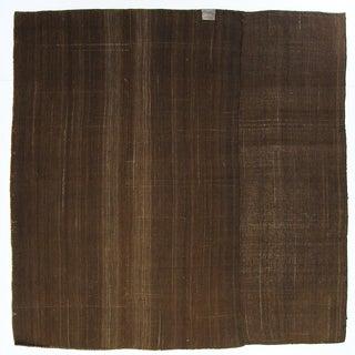 Natural Vintage Turkish Flatweave Kilim - 6' X 6'5