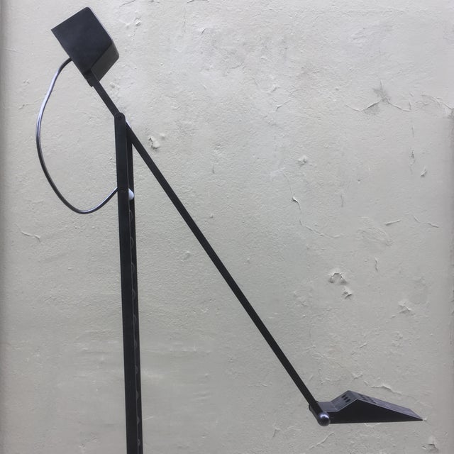 1980 Tizio Style Halogen Floor Lamp For Sale - Image 4 of 11