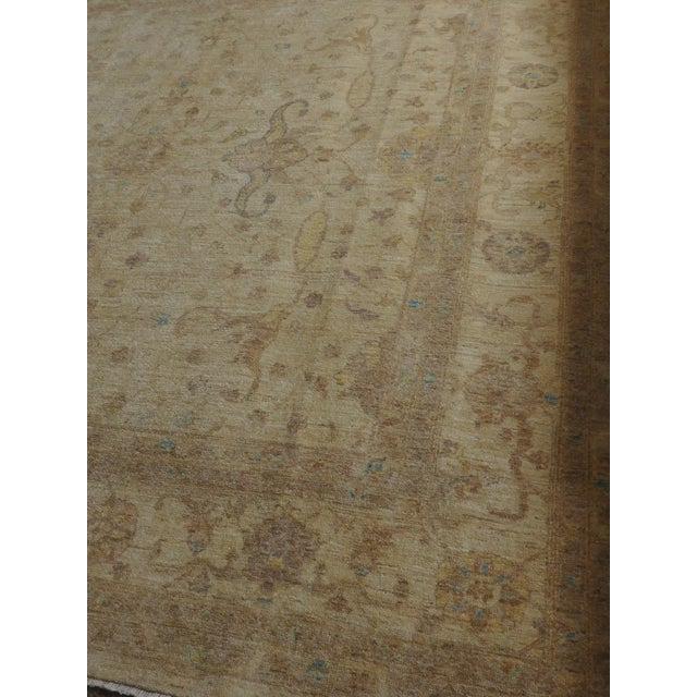 Hand Knotted Pakistan Rug - 8'x 8' For Sale - Image 9 of 10