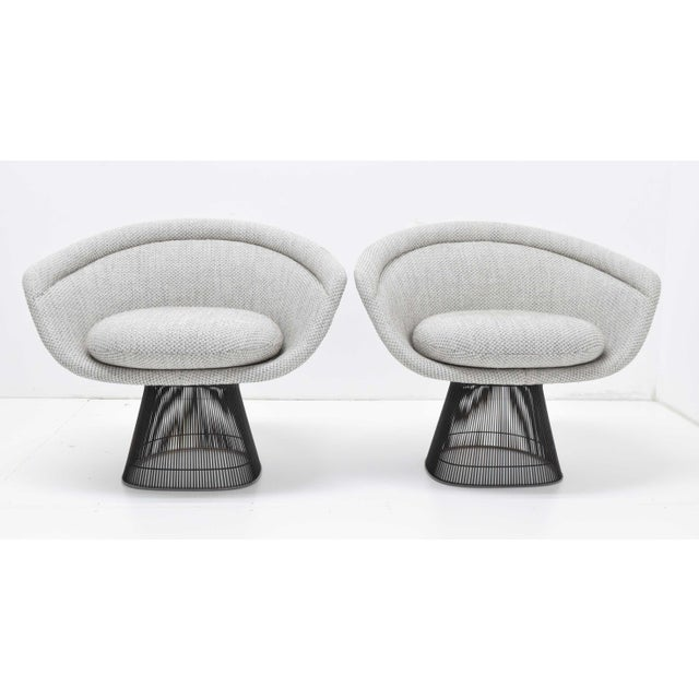 Pair of 1960s Bronze Warren Platner Lounge Chairs For Sale - Image 12 of 12