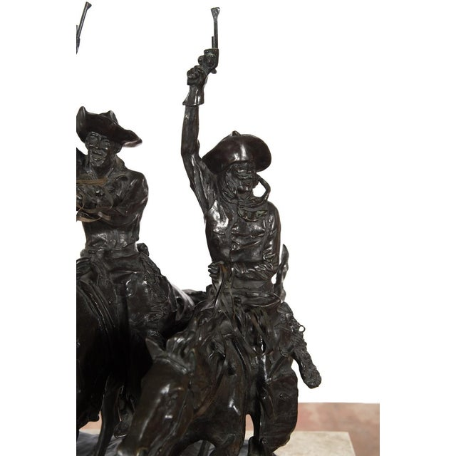 "F. Remington ""Coming Through the Rye"" Bronze Sculpture - Image 5 of 11"