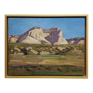 "Conrad Buff ""Mountain Landscape"" Oil Painting For Sale"