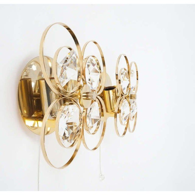 Beautiful pair of Austrian sconces by Bakalowits & Sohne. Delictate handcrafted lights in excellent condition. The...