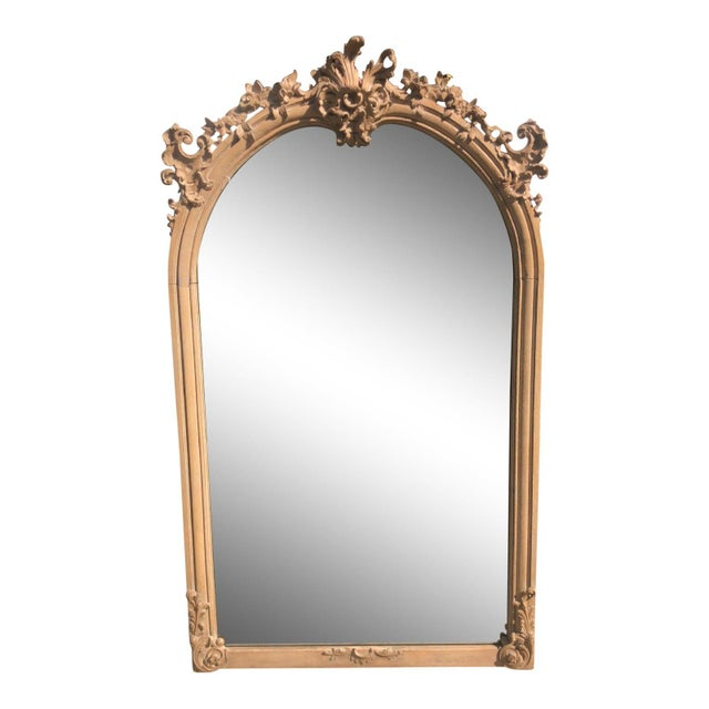 Antique 19th C Gustavian Swedish Empire Beechwood Mirror For Sale In Los Angeles - Image 6 of 6