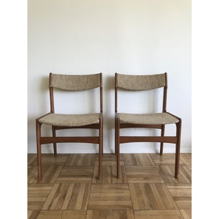 Vintage Mid Century Erik Buch Style Chairs- a Pair Preview
