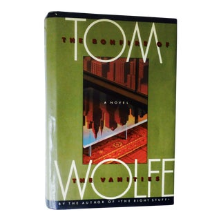 """""""The Bonfire of the Vanities"""" Book by Tom Wolfe"""