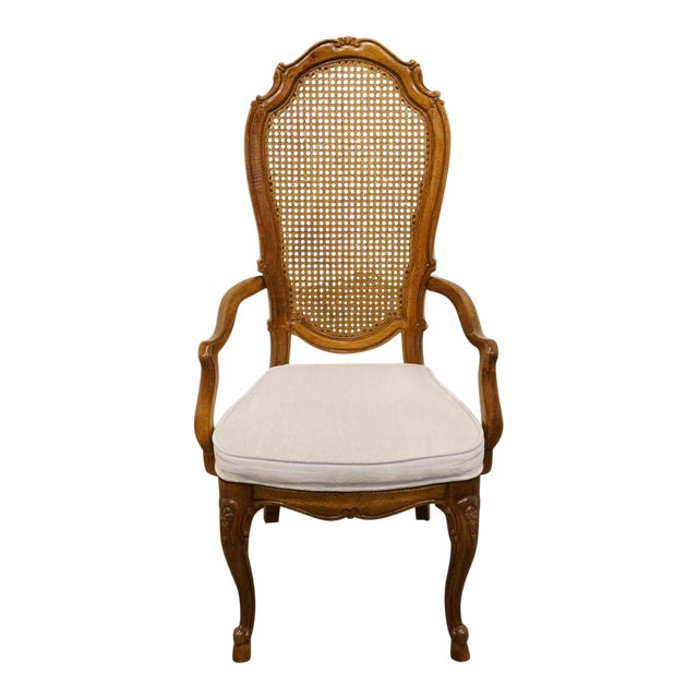 Thomasville Furniture Place Vendome Collection Cane Back ...